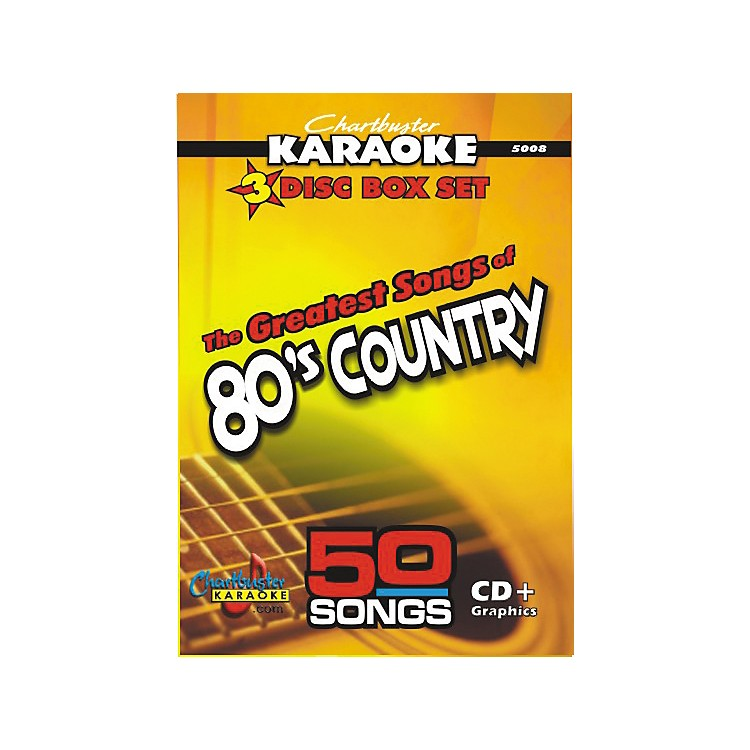 Chartbuster Karaoke50 Song Pack: Greatest Songs of '80s Country Volume 1 CD+G