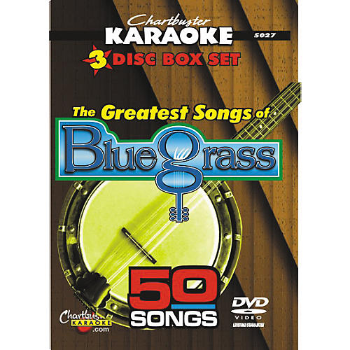 Chartbuster Karaoke 50 Song Pack Greatest Songs of Bluegrass