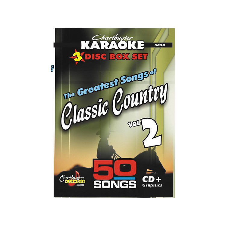 Chartbuster Karaoke 50 Song Pack: Greatest Songs of Classic Country Volume 2 CD+G