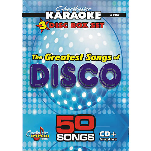 Chartbuster Karaoke 50 Song Pack Greatest Songs of Disco
