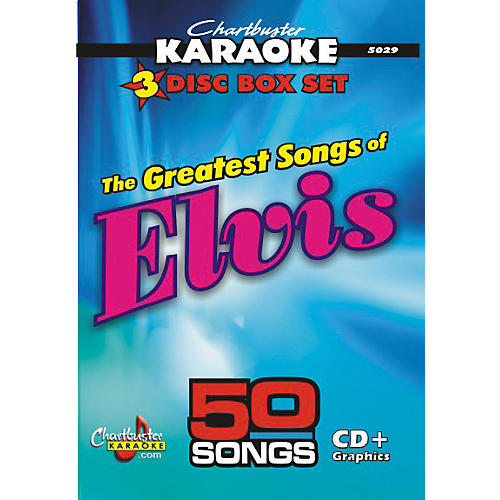 Chartbuster Karaoke 50 Song Pack Greatest Songs of Elvis