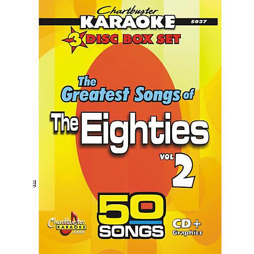 Chartbuster Karaoke 50 Song Pack Greatest Songs of the Eighties Volume 2