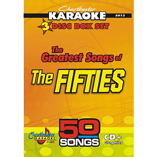 Chartbuster Karaoke 50 Song Pack: Greatest Songs of the Fifties Volume 1