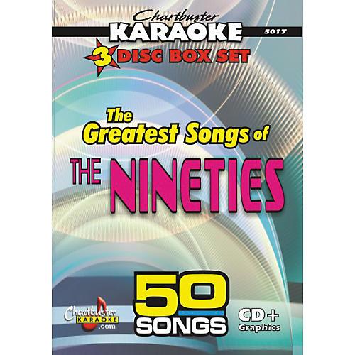 Chartbuster Karaoke 50 Song Pack Greatest Songs of the Nineties Volume 1-thumbnail