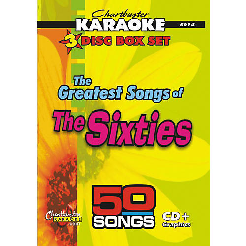 Chartbuster Karaoke 50 Song Pack Greatest Songs of the Sixties Volume 1
