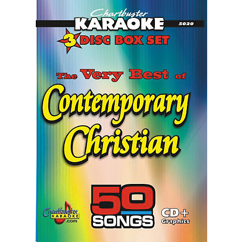 Chartbuster Karaoke 50 Song Pack: Very Best of Contemporary Christian (CD+G)-thumbnail