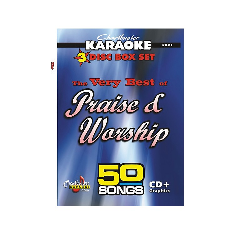 Chartbuster Karaoke 50 Song Pack Very Best of Praise and Worship
