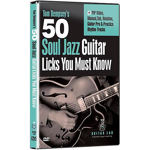 Emedia 50 Soul Jazz Licks You Must Know DVD-thumbnail