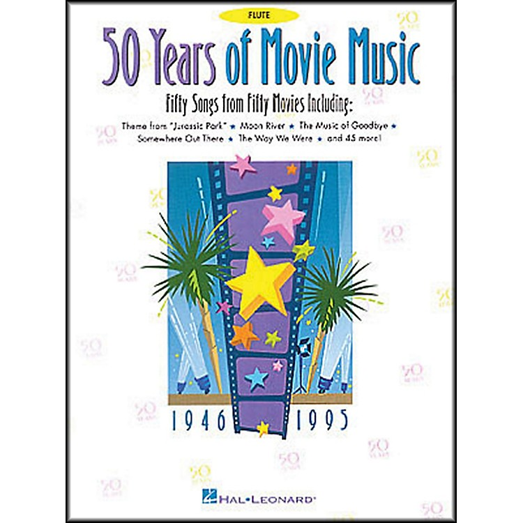 Hal Leonard 50 Years Movie Music for Flute
