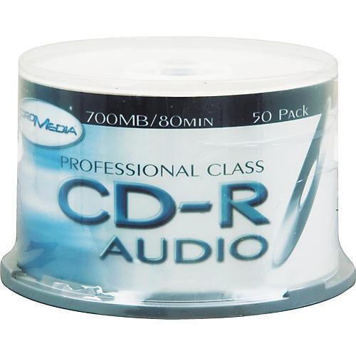 Pro Media 50-pack Promedia Audio CDR