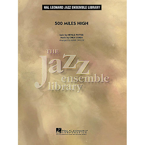 Hal Leonard 500 Miles High Jazz Band Level 4 Arranged by Mark Taylor-thumbnail