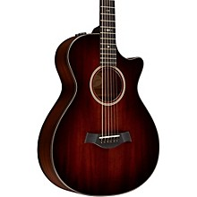 Taylor 500 Series 522ce 12-Fret Grand Concert Acoustic-Electric Guitar Shaded Edge Burst