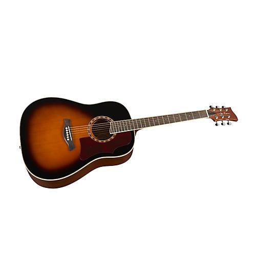 jay turser 500 series jta 560 dreadnought acoustic guitar musician 39 s friend. Black Bedroom Furniture Sets. Home Design Ideas