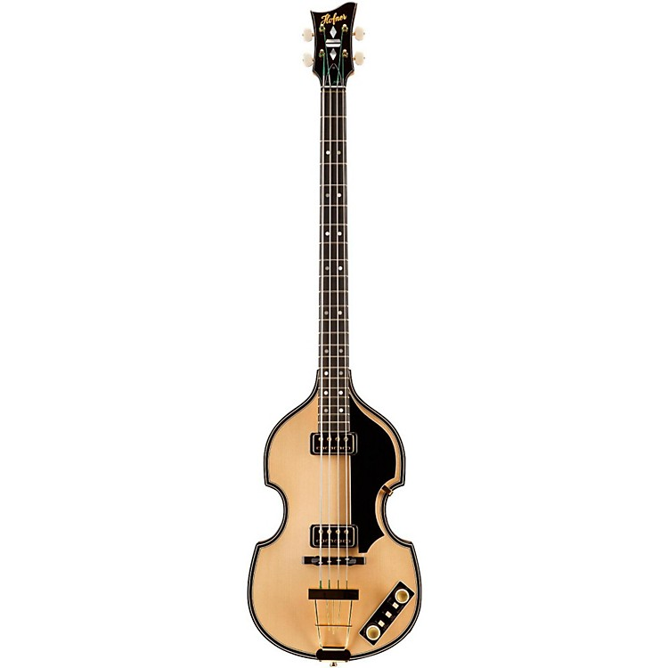 Hofner 5000/1 Deluxe 4-String Electric Bass Guitar Natural