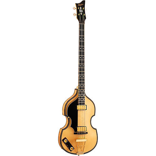 Hofner 5000/1L Deluxe 4-String Electric Bass Guitar Left-Handed