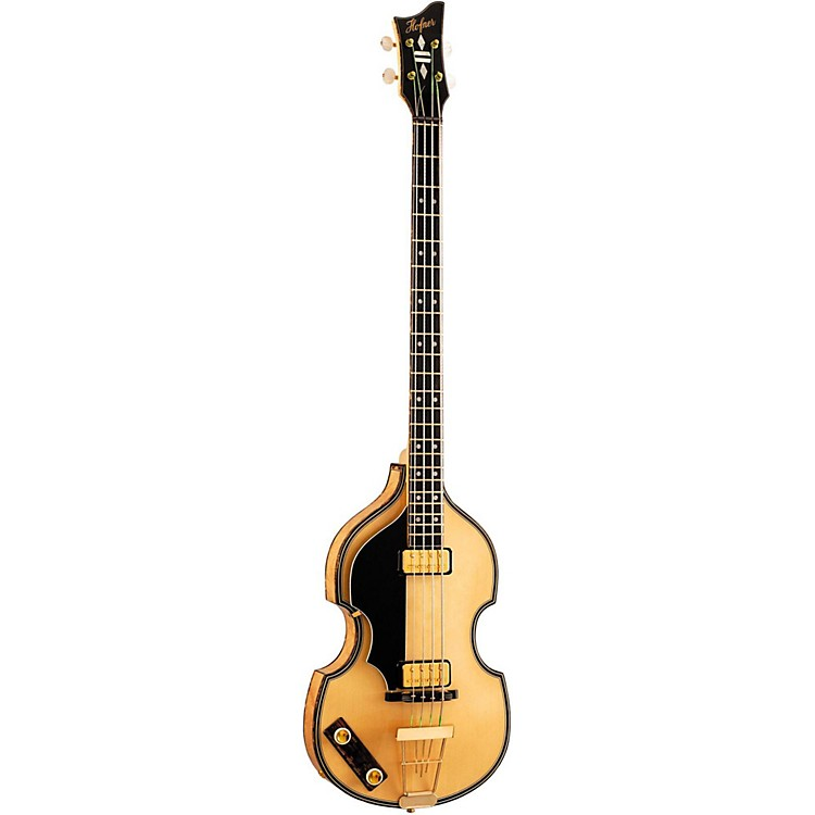 Hofner5000/1L Deluxe 4-String Electric Bass Guitar Left-Handed