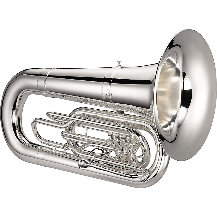 Jupiter 5080 Quantum Series Marching BBb Tuba Silver