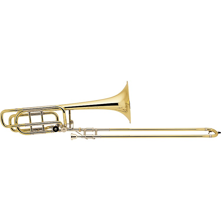 Bach 50B3 Stradivarius Series Bass Trombone  50B3LOG 10.5-inch Large Gold Bell