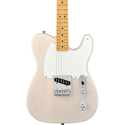 Fender '50s Esquire Electric Guitar White Blonde Maple Fretboard