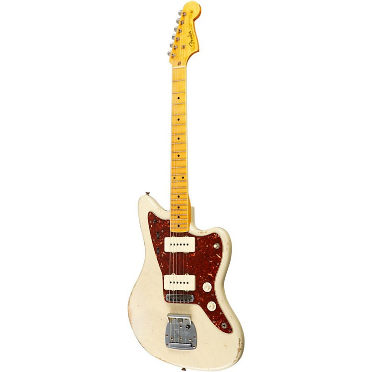 Fender Custom Shop '50s Jazzmaster Relic Electric Guitar Master Built by Dale Wilson Transparent Honey Blonde