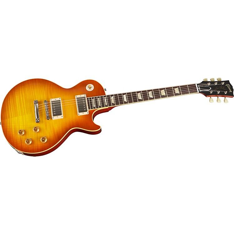 Gibson Custom50th Anniversary 1959 Les Paul Sunburst Reissue Golden Orange Teaburst Electric Guitar