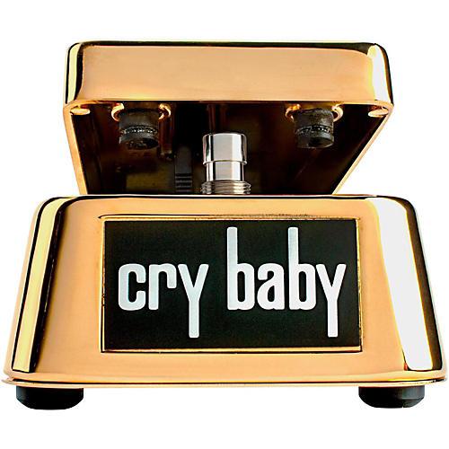 Dunlop 50th Anniversary Gold Cry Baby Wah Pedal-thumbnail