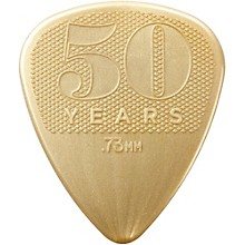 Dunlop 50th Anniversary Gold Nylon Pick, .73mm (32-Pack)