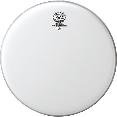 Remo 50th Anniversary Logo Coated Ambassador Drumhead-thumbnail