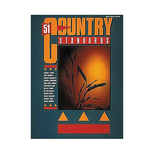 Hal Leonard 51 Country Standards Piano/Vocal/Guitar Songbook
