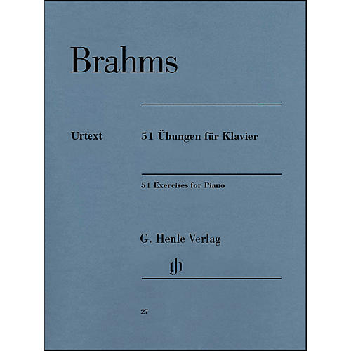 G. Henle Verlag 51 Exercises for Piano By Brahms