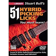 Hal Leonard 51 Hybrid Picking Licks You Must Learn - Lick Library DVD