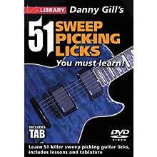 Licklibrary 51 Sweep Picking Licks You Must Learn Lick Library Series DVD Written by Danny Gill