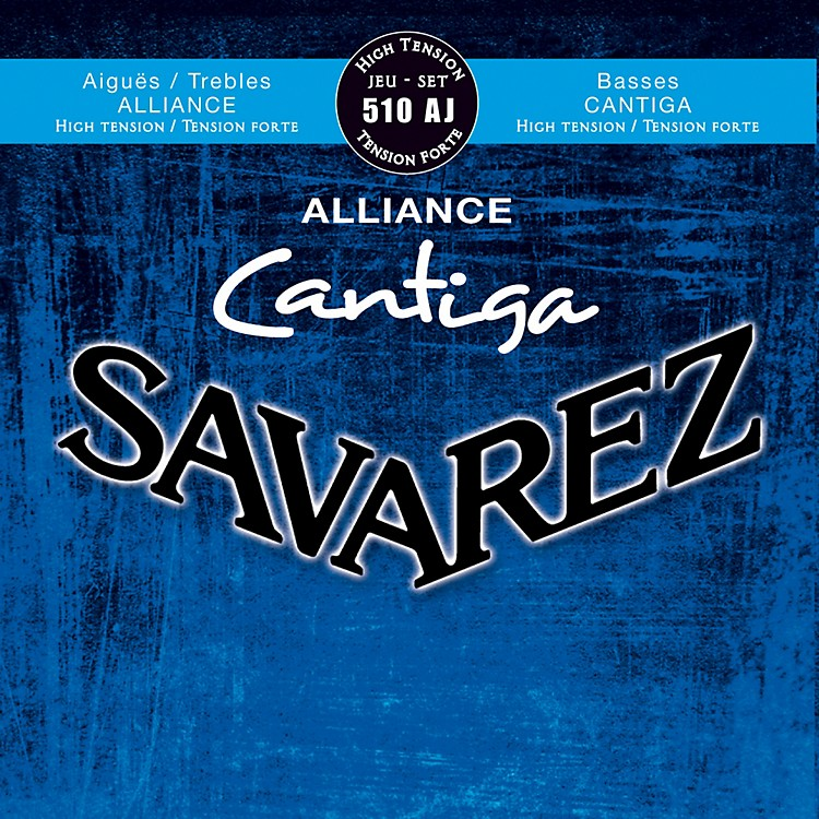 Savarez510AJ Alliance Cantiga High Tension Guitar Strings