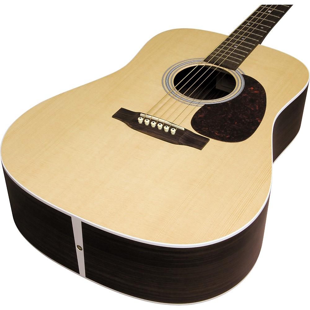 martin custom dsr dreadnought acoustic guitar natural ebay. Black Bedroom Furniture Sets. Home Design Ideas