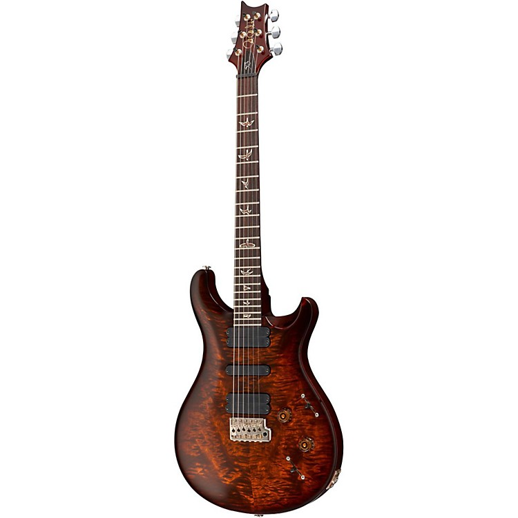 PRS 513 Quilted 10 Top Electric Guitar Evergreen