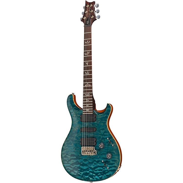 PRS513 Quilted 10 Top With Rosewood Neck Electric GuitarBlue Crab Blue