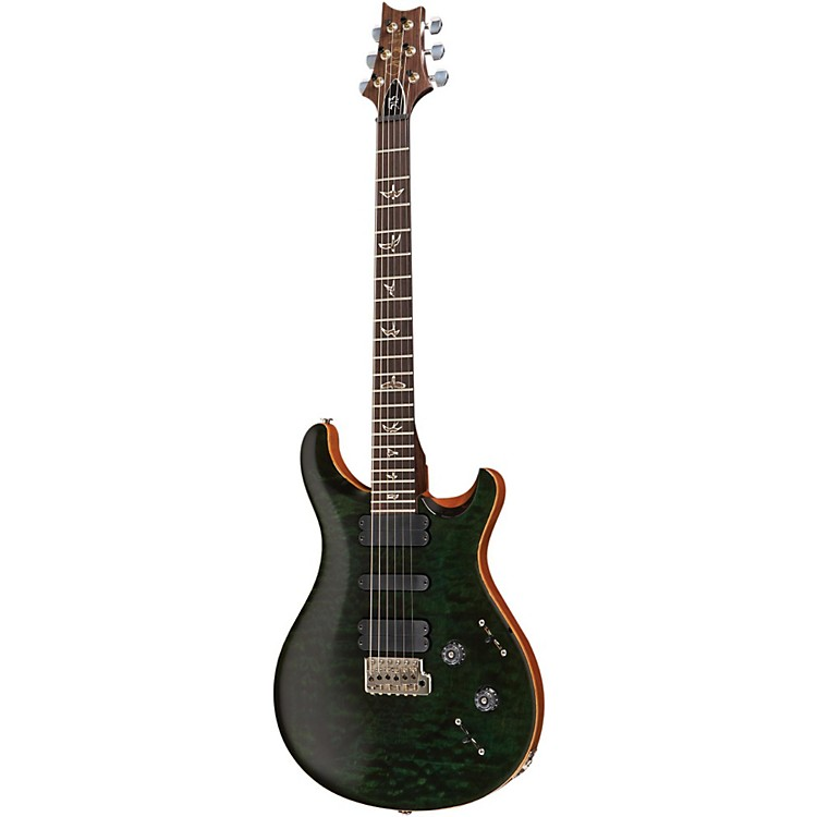 PRS 513 Quilted Top with Rosewood Neck Electric Guitar Evergreen