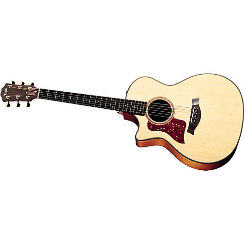 Taylor 514-CE Left-Handed Grand Auditorium Acoustic-Electric Guitar (2010 Model)