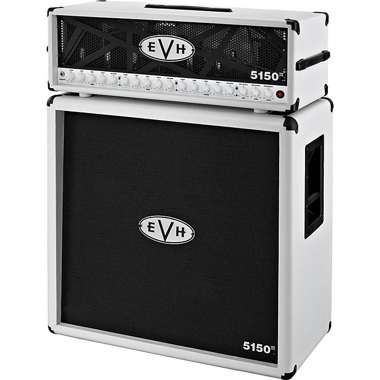 EVH5150 III HD and 4x12 Half StackIvory