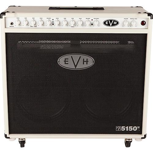 EVH 5150III 2x12 50W Tube Guitar Combo Amplifier Ivory