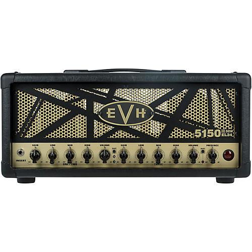 evh 5150iii 50w el34 50w tube guitar amp head black musician 39 s friend. Black Bedroom Furniture Sets. Home Design Ideas