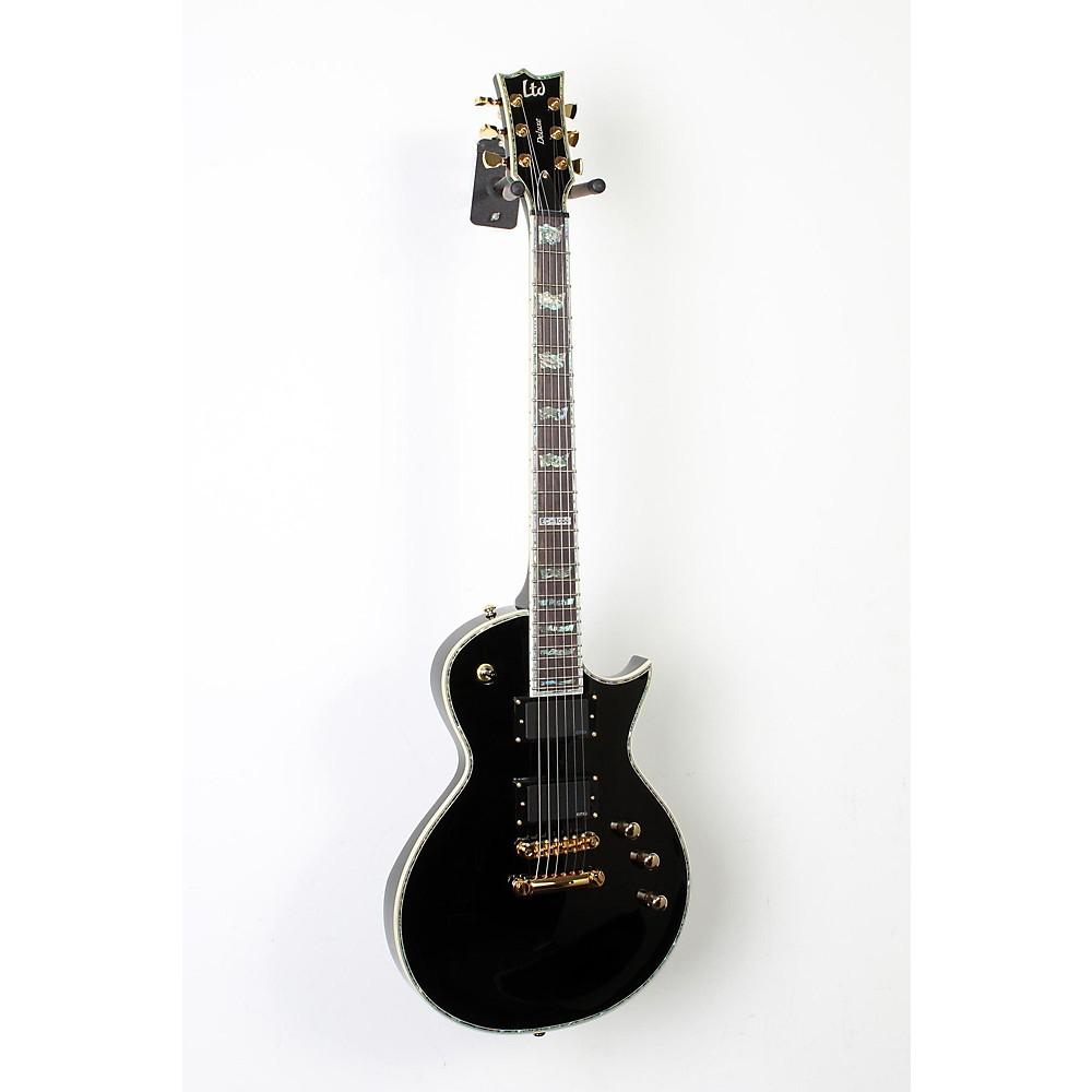 esp ltd deluxe ec 1000 electric guitar black 190839034717. Black Bedroom Furniture Sets. Home Design Ideas