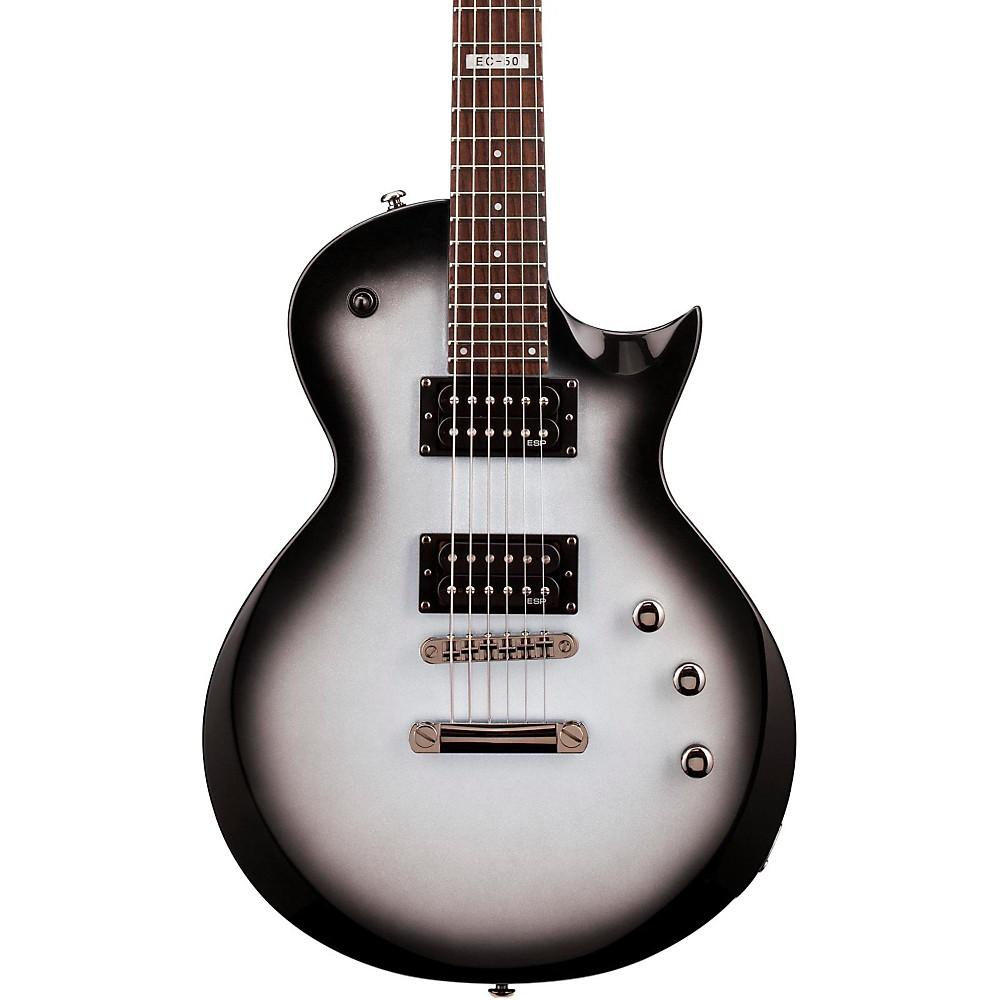 esp ltd ec 50 wiring diagram: esp ec50 electric guitar silver sunburst