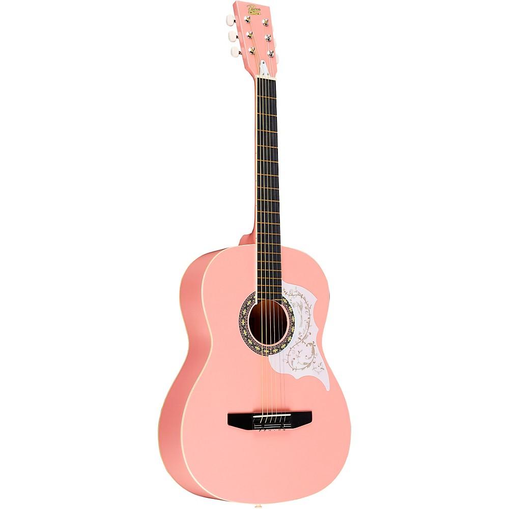 rogue starter acoustic guitar pink. Black Bedroom Furniture Sets. Home Design Ideas