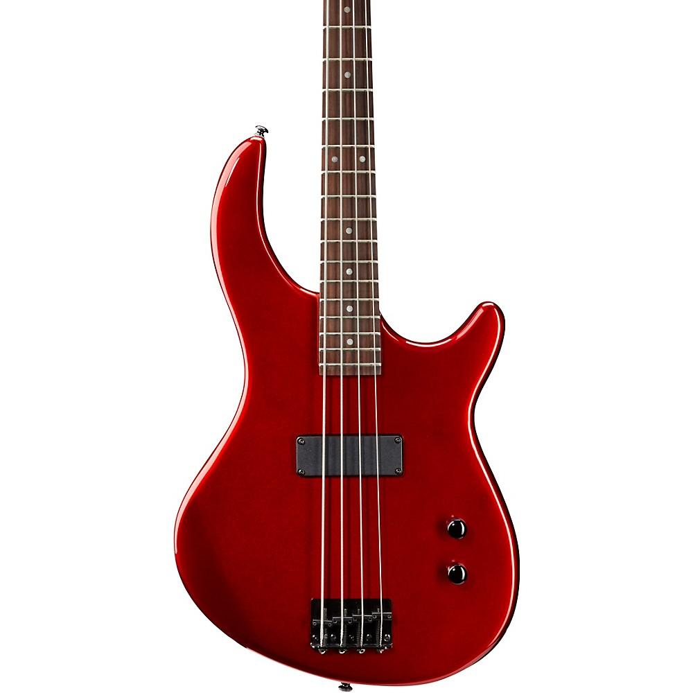 dean edge 09 4 string electric bass guitar metallic red ebay. Black Bedroom Furniture Sets. Home Design Ideas
