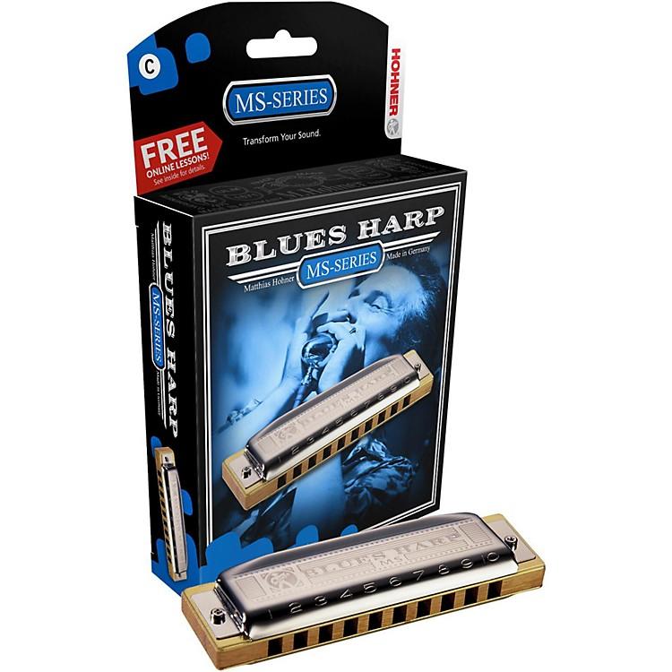 Hohner532 Blues Harp MS-Series HarmonicaC#/Db