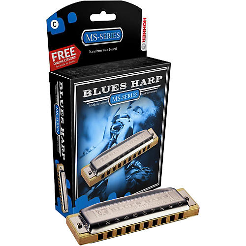 Hohner 532 Blues Harp MS-Series Harmonica D