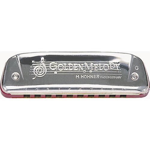 Hohner 542/20 Golden Melody Harmonica-thumbnail