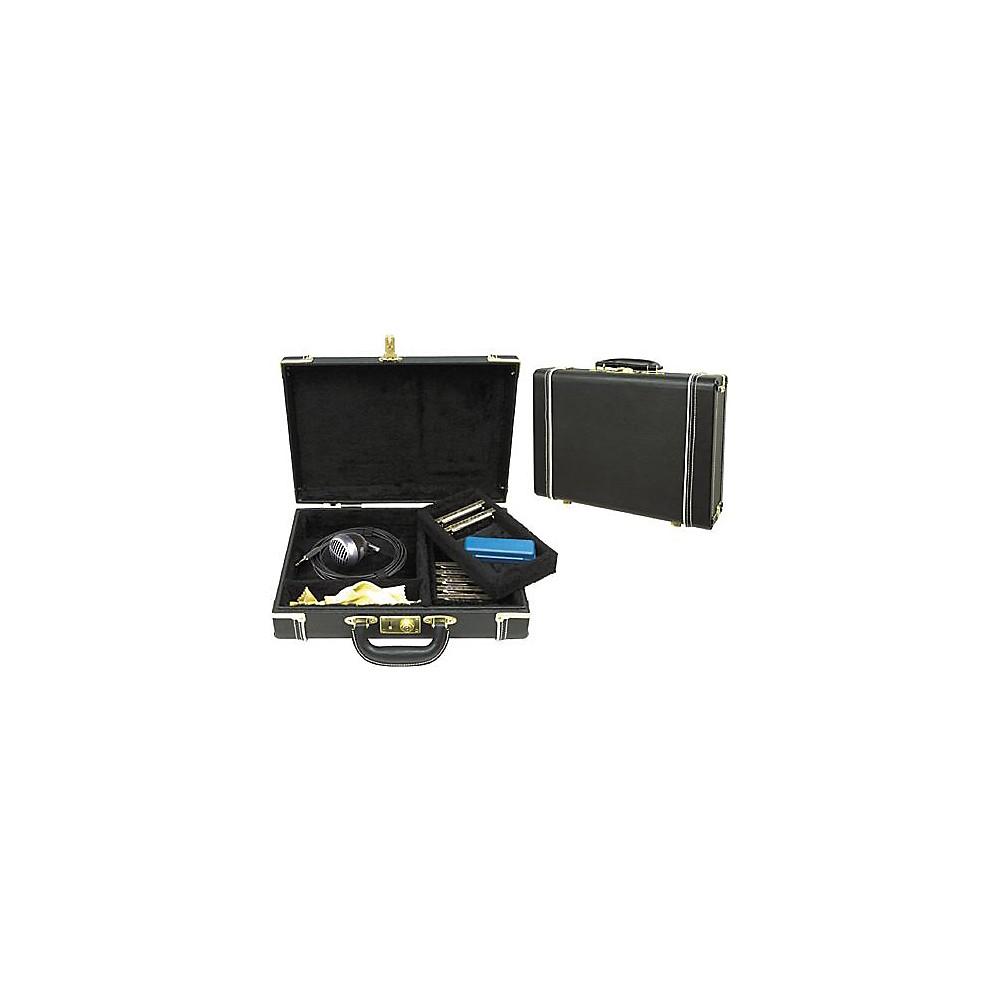 Musician's Gear Hardshell Harmonica Case Black