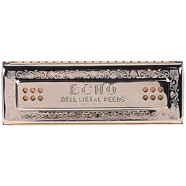 Hohner 55/80 Echo Harmonica Key of C-G